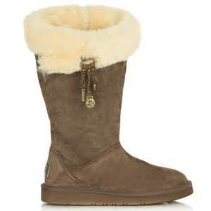 womens boots au womens ugg australia brown plumdale charm boots