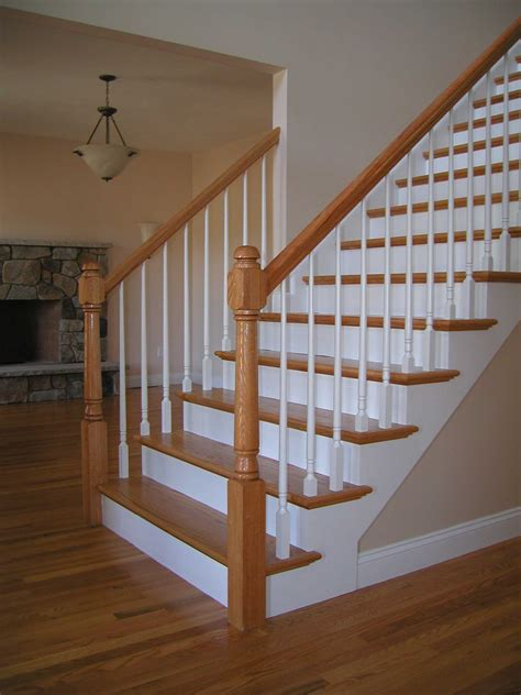 wood stairs designed built installed repaired nyc  york