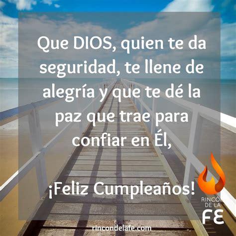 Frases cristianas de cumpleaños Rincón de la Fe