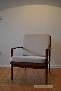 Sessel 60er Design : 60er 60s teak easy chair sessel danish design mid century ~ A.2002-acura-tl-radio.info Haus und Dekorationen