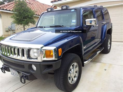 luxury hummer 2006 hummer h3 luxury package 4wd