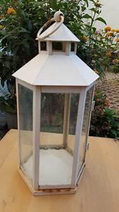 Laterne Weiß Metall : laterne weiss 6eck metall kaufen auf ricardo ~ A.2002-acura-tl-radio.info Haus und Dekorationen