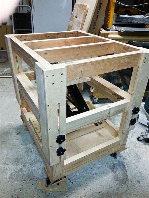 adjustable height worktablerouter table    mt