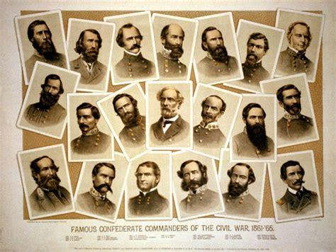 confederate leaders   civil war