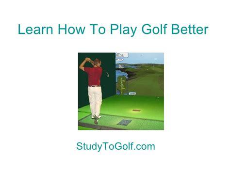 learning golf swing learn golf swing tutorial