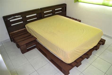 canapé lit 120 diy fabriquer un lit en palette de bois cuboak