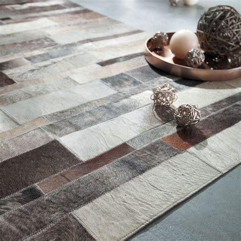 tapis cuir arty 140x200 maisons du monde