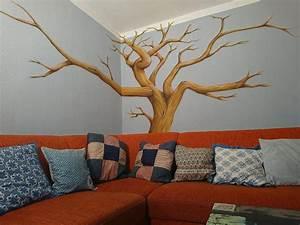Baum Für Wohnzimmer : wandmalerei riesa mei en n nchritz butterfly art ~ Michelbontemps.com Haus und Dekorationen