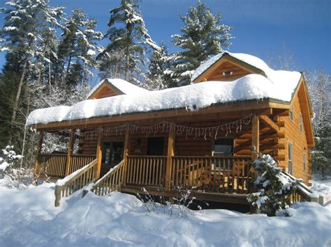 log cabin rentals nh cozy log cabin in the white mountains on the vrbo
