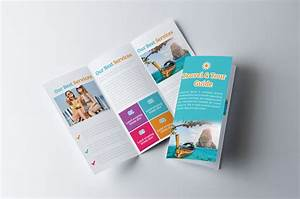 Tour Travel  U0026 Holiday Agency Trifold Brochure