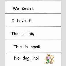 Tadpoles, Trails And Trees Growing Readers Kindergarten Sight Word Sentences
