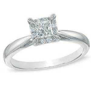 princess halo engagement rings inexpensive princess halo engagement ring jewelocean