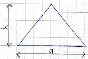 geometrie flaeche und umfang des kreis dreieck und rechteck