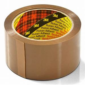 3m Brown Buff Scotch Packaging Tape 50mm X 66m