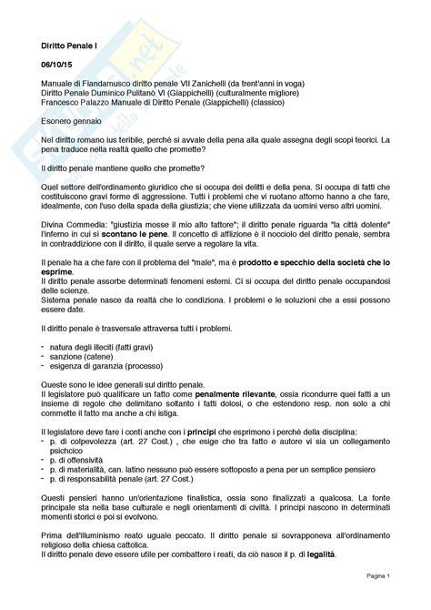 Dispensa Diritto Penale by Definizioni Per Esame Appunti Di Diritto Penale