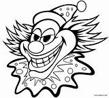 Pennywise Clown Drawing Coloring Pages Getdrawings sketch template