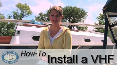 Howto Install A Vhf Radio  Youtube