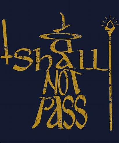 Shall Pass Gandalf Lord Rings Clip Fellowship