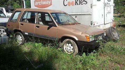 buy   toyota tercel wagon sr wd  miles
