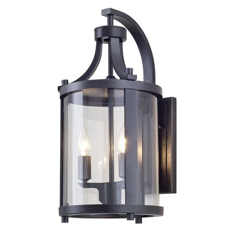 dvi lighting dvp4472hb cl niagara outdoor wall sconce