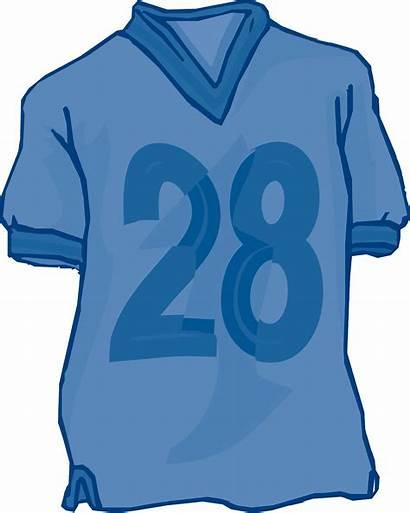 Jersey Clipart Football Shirt Soccer Sports Cliparts