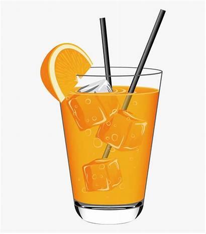 Juice Orange Drink Clipart Cold Soft Drinks