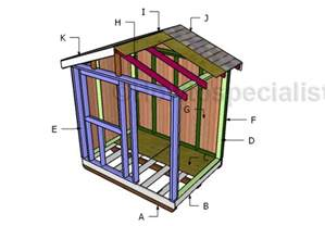 6x8 Garden Shed Plans by 6x8 Small Garden Shed Plans Howtospecialist How To