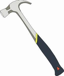 Clip Art Hammer And Nail