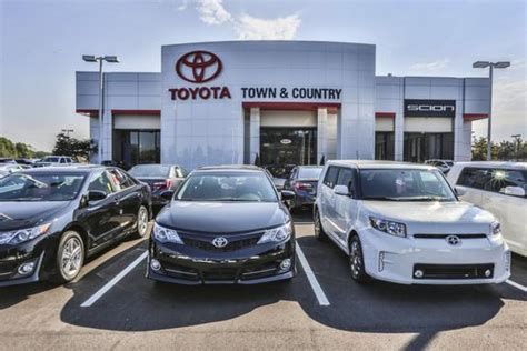 town country toyota car dealership  charlotte nc