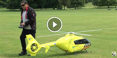 huge rc monster big scale rc helicopter  weston park
