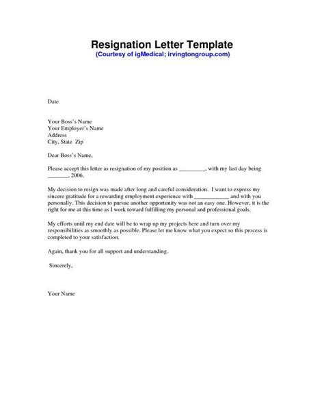 Writing a Heartfelt Resignation Letters in PDF | Examples