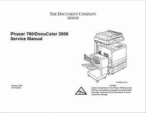 Xerox Phaser 790 Service Manual
