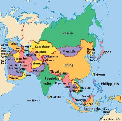 ideas  asia map  pinterest map  asia east