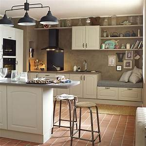Meuble Cuisine Leroy Merlin : meuble de cuisine chanvre delinia ol ron leroy merlin ~ Melissatoandfro.com Idées de Décoration