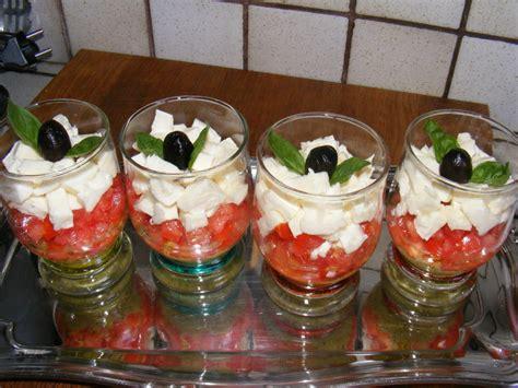cuisine facile originale verrines tomates mozzarella cuisine et perles