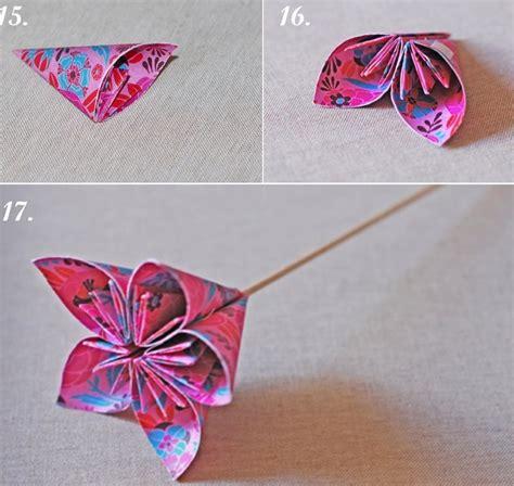 fleur en papier facile origami facile 100 animaux fleurs en papier et d 233 co maison