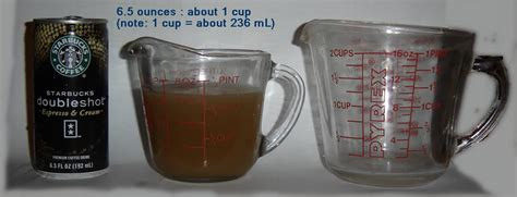 ounces in a cup starbucks drinks how many ounces how many cups