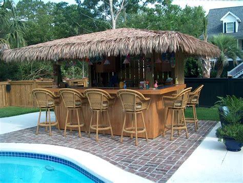 These Cozy Patio Tiki Hut Bars Ideas Will Accomplish Your