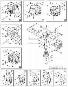 Mtd 13am660f700  2004  Parts Diagram For Engine Accessories