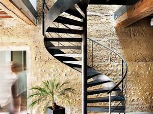 Escalier En Colimaçon : escalier en colima on caract ristiques et prix ooreka ~ Mglfilm.com Idées de Décoration