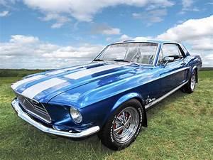 Vintage V8 Blues - Mustang GT Photograph by Gill Billington
