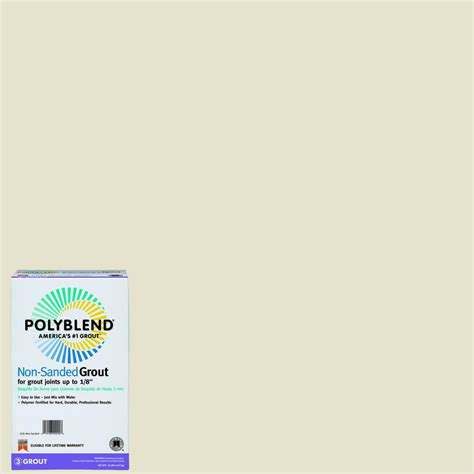 alabaster grout custom building products polyblend 115 platinum 10 lb non sanded grout pbg11510 the home depot