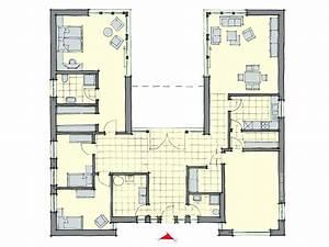 Grundrisse Bungalow 5 Zimmer Mit Fertighaus Massivhaus De