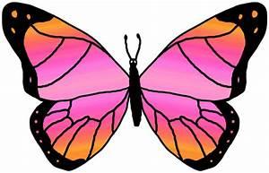Butterflies cartoon butterfly clipart - Clipartix
