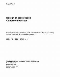 Design Of Prestressed Concrete Flat Slabs