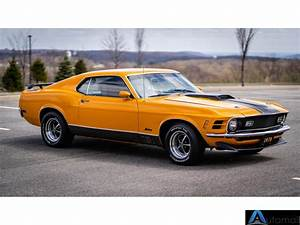 1970 Ford Mustang 4-speed Manual Transmission