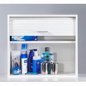 Meuble 25 Cm De Profondeur : cool meuble de salle de bain ou wc 60x25 cm blanc ~ Edinachiropracticcenter.com Idées de Décoration