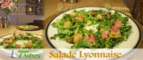 recette cuisine lyonnaise recette salade lyonnaise sl01 png