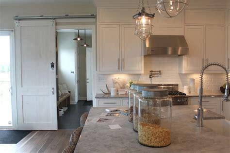 Alpine White Granite Countertops   Transitional   kitchen