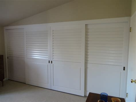 plantation shutters closet doors